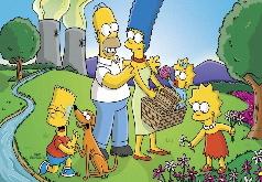 Игры Симпсоны на отдыхе