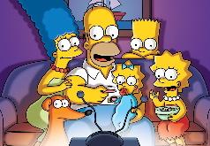 Игра Симпсоны: у Телевизора