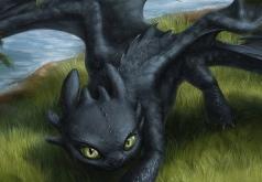 Игра Как Приручить Дракона: Ночная Фурия