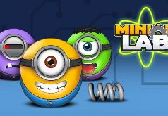 Игра Миньоны: Лаборатория