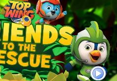 Игра Отважные Птенцы: Друзья Спешат на Помощь