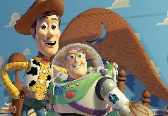 Игра История Игрушек 4 Пазл: Вуди и Базз