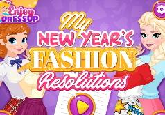 Игра Новогодняя Мода от Принцесс