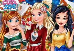 Игра Принцессы в Стране Рождества