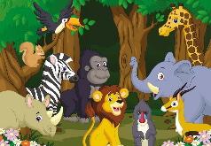 Игра Животные: Лес