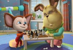 Игра Барбоскины: Шахматы с Геной