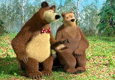 Игра Маша и Медведь: Медведь Романтик