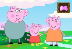Игра Свинка Пеппа: Уклоняйся