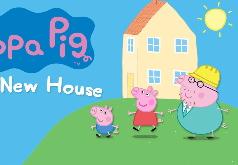игра строить свинке дом
