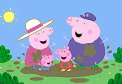 Игра Свинка Пеппа: Веселая Семья