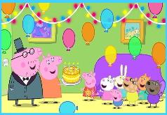 Игра Свинка Пеппа: День Рождения