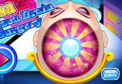 Игра Принцесса Эльза: Хирургия Мозга