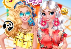 Игры Летняя мода Эльзы
