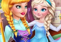 Игра Няня для Ледяной Королевы