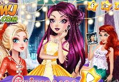 Игра Принцессы: Ночь Веселья Лучших Подруг