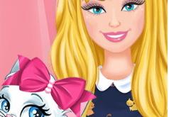Игры Одевалка Барби кошки
