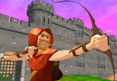 игры лучник в крепости