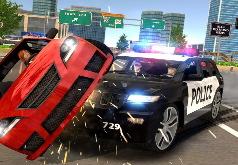 игра симулятор гонки полиции