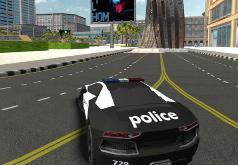 Игра Сумасшедшие Полицейские Автомобили