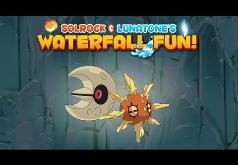 Игра Solrock и Lunatone: Приключения на Водопадах