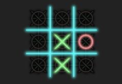 Игра Неоновые Крестики Нолики На Двоих