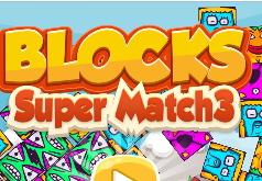 Игра Супер Блоки 3: Три в Ряд