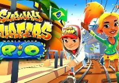 Игра Сабвей Cерф: Рио