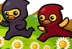 Игра Приключения Цыплят Ниндзя