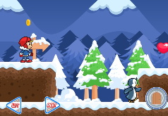 Игра Приключения в Снежной Стране