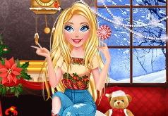 Новогодний Макияж Барби для Девочек