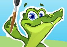 игра крокодил рисовать