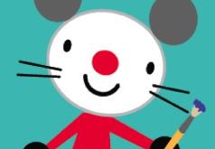 мышка игры нарисованная