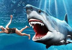 игра акула мегалодон и удивительная лягушка