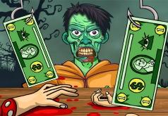 Игра Безрукий Миллионер: Еда Для Зомби