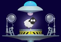Игра Опасные овцы против пришельцев онлайн