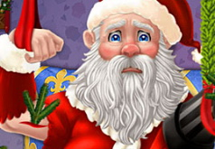 Игра Спасите Травмированного Санту и Рождество