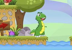 Игра Приключение Динозавра