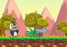 Игры Брось пингвина