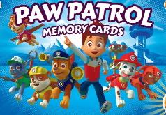Игра Щенячий патруль - тренировка памяти