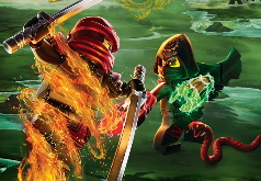 игры лего ниндзя го драки на двоих