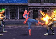 игры человек паук драться
