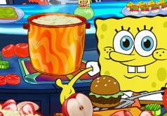 Игра Губка Боб: кулинарный конкурс