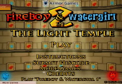 Игры для двоих огонь и вода в светлом храме