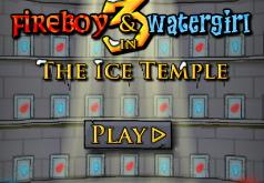 Игры огонь и вода в ледяном храме во весь экран
