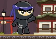 Игра Приключения черного ниндзя