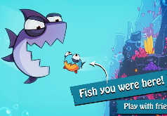 игра рыбка ест других рыбок