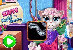 Игра Вылечить Китти в больнице