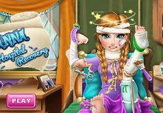 Игра Ледяная Принцесса в больнице