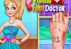 Игра Хирургия ноги принцессы