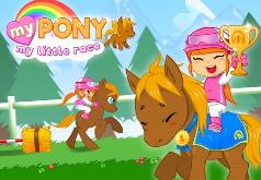 Игра Гонки пони